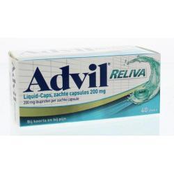 Advil liquid capsules 200