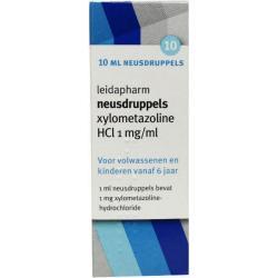 Xylometazoline HCI 0.1% druppels