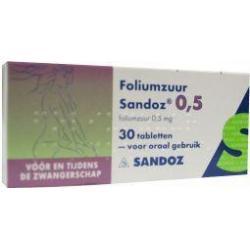 Foliumzuur 0.5 mg