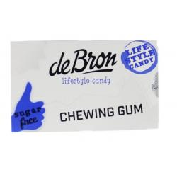 Chewing gum strong menthol mint suikervrij