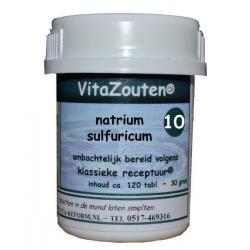 Natrium sulfuricum celzout 10/6