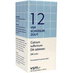 calcium sulfuricum d6 schussler 12