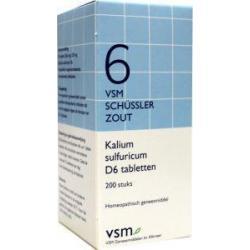 kalium sulfur d6 schussler 6