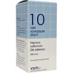 Natrium sulfuricum D6 Schussler 10