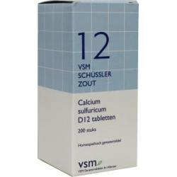 Calcium sulfuricum D12 Schussler 12