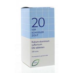 Kalium aluminium sulfuricum D6 Schussler 20