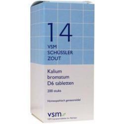 Kalium bromatum D6 Schussler 14