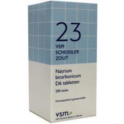 Natrium bicarbonicum D6 Schussler 23