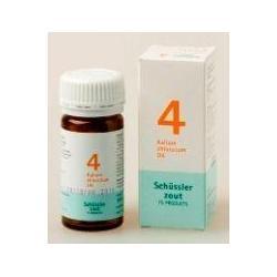 Kalium chloratum 4 D6 Schussler