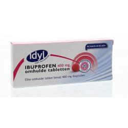 Ibuprofen 400mg suikervrij