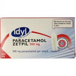 Paracetamol 500mg zetpil