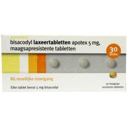 bisacodyl 5mg Apotex uad