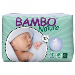 Bambo babyluier mini 1 2-4kg
