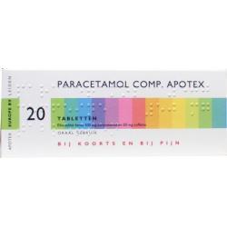 paracetamol/coff 550 Apotex av