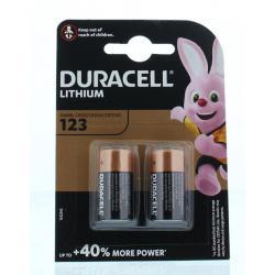 Duracell batterij 123/2