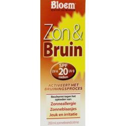 zon & bruin creme @