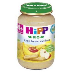 Hipp appel banaan met koek