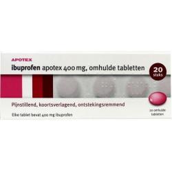 ibuprofen 400mg Apotex uad