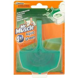 muscle toilet blok aqua green