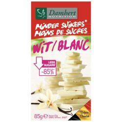 Damhert chocoladetablet wit