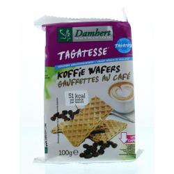 Damhert koffiewafers