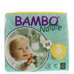 Bambo babyluier midi 3 5-9kg