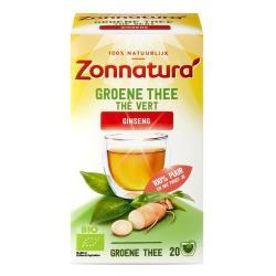 groene thee ginseng bio zon
