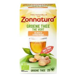 groene thee gember bio zo