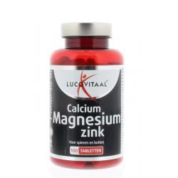 Lucovitaal calcium magn zink @