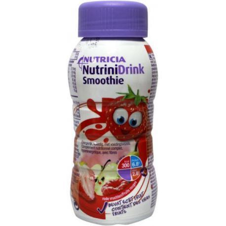 Nutrinidrink smooth rood fruit