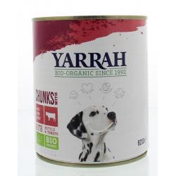 Yarrah hond brok rund in saus