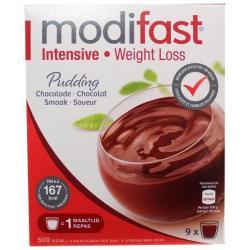 Pudding chocolade 9 stuks