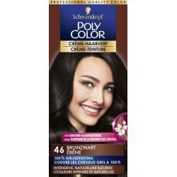 Haarverf 46 bruin zwart