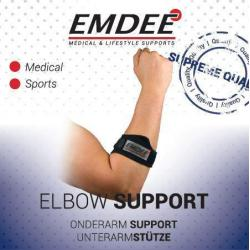 Tennis golf arm supportband zwart