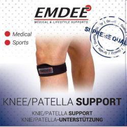 Knie patella supportband zwart
