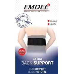 Rugband extra zwart MD2316