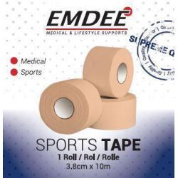 Sport tape 3.8 cm x 10 cm huidkleur