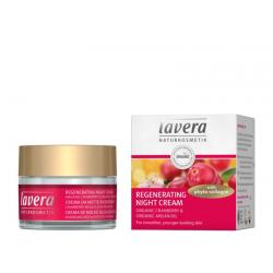 Nightcream regenerating cranberry & argan oil