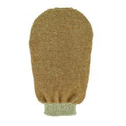 Massage handschoen tweezijdig linnen / katoen