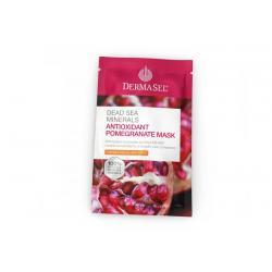 Granaatappel masker met antioxidanten