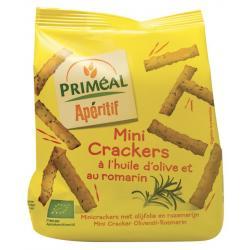 Aperitive mini crackers olijfolie en rozemarijn