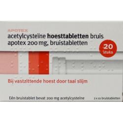 Acetyl cysteine 200 mg