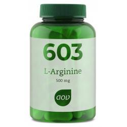 603 L-Arginine 500 mg