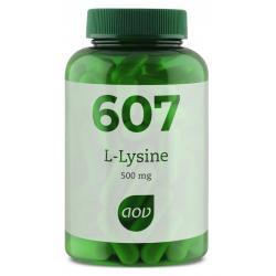 607 L-Lysine 500 mg