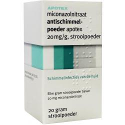 Miconazol 20 mg/g poeder