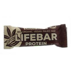 Lifebar plus choco green protein bio
