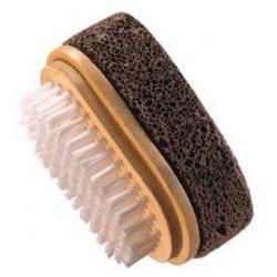 Natural puimsteen borstel 8 x 5cm