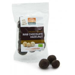 Hazelnoten snack raw chocolate