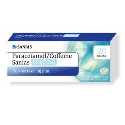 Paracetamol coffeine 500/50 mg