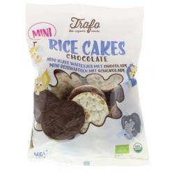 Mini rijstwafels chocolade